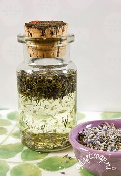 Масло лаванды - готовим ароматный мацерат! » Блог Волшебное мыло и прочие удовольствия