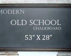 KIDS PLAYROOM CHALKBOARD For Sale 53x28 Huge by RevivedVintage