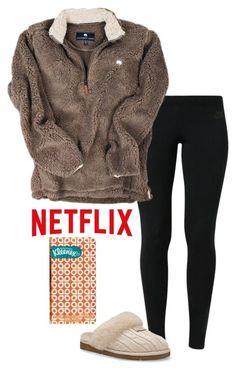 Hasta para estar en descanso hay que tener sentido de la moda ❤ netflix