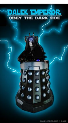 Day 207: The Dalek Side II. Davros really reminds me of the Emperor