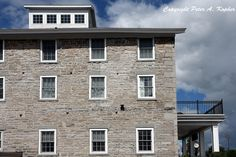 """The Next Step - Picture of the Day: 9/14/13 - """"Old Stone Mill Inn"""" This luxury inn, which was established as a stone mill in 1845, is located in the heart of Skaneateles, NY."""