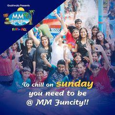 To chill on sunday you need to be @ MM Funcity!! For More: https://goo.gl/Su9dWZ #MMFUNCITY #Chill #Chhattisgarh #Raipur