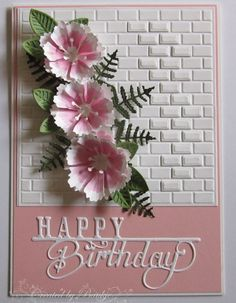 Baukje's Cards and Crafts: Cards. (Pin#1: Flowers: SU-3D/ Die...s).
