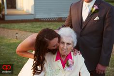 The bride and her grandmother. Jessica + Taylor's wedding at Lenora's Legacy.