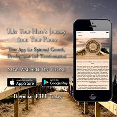 Take Your Hero's Journey - Now Available on iPhone!  It's been a long time coming and a journey in itself but today I am excited to release my app for the iPhone. Many people have asked for an iPhone version and it is now here. You can download it for FREE on the app store at the link below: http://ift.tt/2dw3JRA  Within the app I will guide you through the 12 stages of The Hero's Journey as it applies to your life. Each stage of the journey will also have exercises to support your growth…