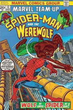Marvel Team-Up #12 - Wolf at Bay (Issue)