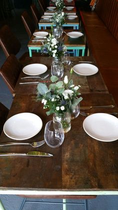 """""""The flowers arrived and are a splendid addition to the restaurant! Got Married, Getting Married, Party Venues, Christening, Daisy, Restaurant, London, Weddings, Twitter"""