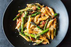 Craig Claiborne's Pasta con Asparagi recipe from Food52