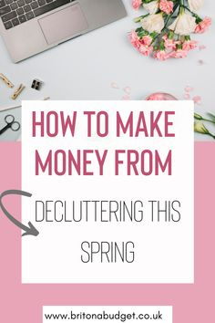 Spring is finally here – although with the weather in the UK you might not think so! Therefore, so is the season of decluttering and organising your life.I'm sure that many of us have an unnecessary amount of clutter that we have accumulated over the years and have never gotten round to sorting through. So, to save you the hassle, I have collated a list that you can work through and get your Spring cleaning fever to a flying start, while making money along the way! Ways To Save Money, How To Make Money, How To Get, Create A Budget, Get Out Of Debt, Budgeting Tips, Organising, Along The Way, Decluttering