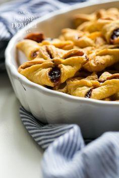 Mrkvové šátečky s povidly   Hodně domácí Apple Pie, Macaroni And Cheese, Waffles, Goodies, Food And Drink, Baking, Breakfast, Cake, Ethnic Recipes