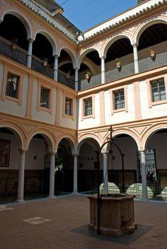 Claustro del Aljibe, Museo de Bellas Artes de Sevilla,  Spain