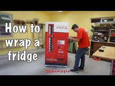 Vintage Gas Pump Texaco refrigerator wrap – Rm wraps Store