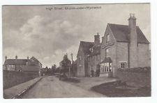 1909 Postcard High Street Shipton under Wychwood  near Burford Oxford