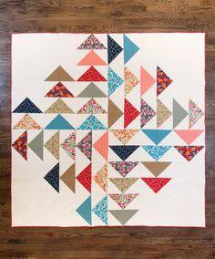 Fancy Tiger Crafts: New Fancy Pattern: Four Winds Quilt! PATTERN IN DROPBOX