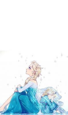 アナと雪の女王 エルザのiPhone壁紙 | 壁紙キングダム スマホ版