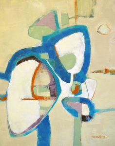 "Mareva Millarc - rondeau, 24""X 30"" oil on canvas"