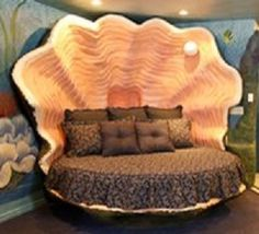 king size oyster shell bed | ♡bedrooms♡ | pinterest | oyster