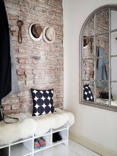 378 best exposed brick images living room brick wall brick walls rh pinterest com