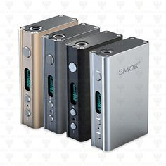 SMOK XPRO M80 PLUS  TINY UNIT, BLASTS OUT 80WATTS. THIS ALSO HAS TEMPERATURE CONTROL!  The SMOK XPRO M80 PLUS is the big brother of the popular SMOKTech XPRO M50. The M80 PLUS can now fire up to 80 watts and has new temperature control settings. With two built-in 18650 Li-polymer batteries, the M80 PLUS has a high capacity of 4400 mAh. This allows most vapers to enjoy a longer and stronger vaping experience. There is now no need to unscrew the back of the mod to recharge your batteries…