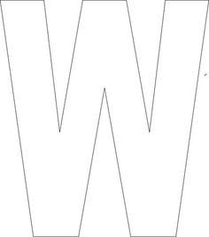 free printable upper case alphabet template block letterletter walphabet