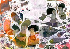 Illustration By: Mansoureh Mohammad Hosseini