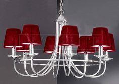 Franklite FL2146/8 Carousel 8 Light Chrome Chandelier from Lights 4 Living