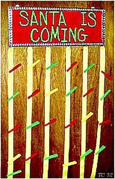 Santa is Coming, Make a Christmas Countdown Clock