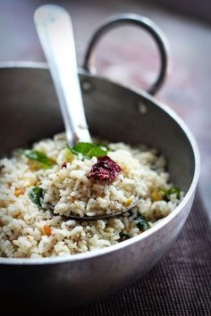 [Pepper Garlic Rice] + Click For Recipe!  #easy #recipes #asian #indian