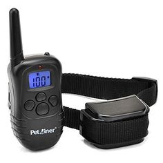 Petrainer 330 Yards Remote Training E-collar PET998DR Rechargeable and Rainproof Dog Training Collar for 1 dog with Safe Beep, Vibration and Shock Electronic Electric Collar for Medium or Large Dog Trainer with Newly Upgraded-Blue Backlight Screen - http://www.thepuppy.org/petrainer-330-yards-remote-training-e-collar-pet998dr-rechargeable-and-rainproof-dog-training-collar-for-1-dog-with-safe-beep-vibration-and-shock-electronic-electric-collar-for-medium-or-large-dog-tr/