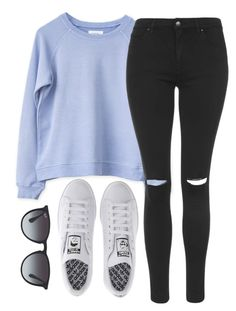 """""""Untitled #269"""" by whovian-of-fashion ❤ liked on Polyvore featuring Topshop, adidas and Ray-Ban"""