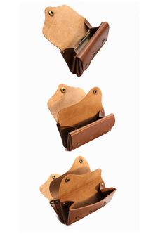 Leather wallet Stitch-less Stitch-less Rivet от OakCreationCuir