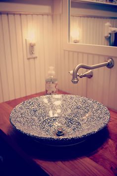 this bathroom bowl sink!