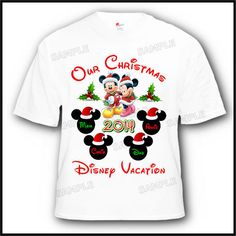 Disney Christmas Shirt Designs.Gift Ideas For Family Disney Christmas Shirt Ideas