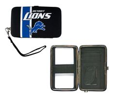 Detroit Lions Shell Wristlet