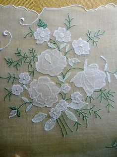 Madeira Organdy linen placemat set