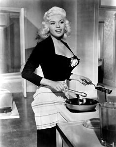 Jayne Mansfield- if only I looked this glam cooking dinner, lol