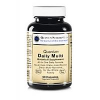 Quantum Daily Multi-Vitamin: This all-in-one supplement provides broad spectrum, natural nutrition delivering a quantum shift in energy, health and vitality – great for daily use by the whole family.