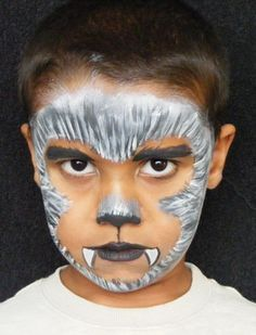 werewolf face paint google search halloween facehalloween ideashalloween - Halloween Easy Face Painting