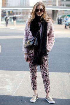 Stil ikonlarının göz kamaştırdığı New York sokak tarzı!   #fw14 #miumiu #sunglasses #NYFW #NY14 #streetstyle