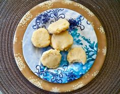 Three ingredient key lime cookies!