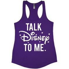 Talk Disney to Me ($20) ❤ liked on Polyvore featuring tops, shirts, disney, tank tops, black, women's clothing, crew neck shirt, burnout racerback tank, black tank and loose tank