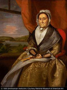 Ralph Earl Mrs. Joseph Wright 1792 Smithsonian American Art Museum