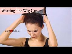 How to wear a wig - YouTube