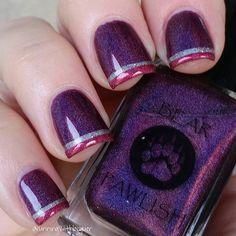 Instagram media runningwithlacquer  #nail #nails #nailart