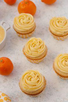 Cuties Clementine Cupcakes Via PineappleandCoconut.com