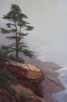 The Sentinel by Kathleen Dunphy Oil ~ 30 x 20