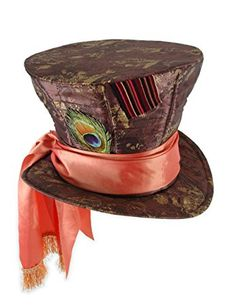 Mad Hatter hat for adults Halloween size - movie of Alice in Mad Hatter Hat Adult Wonderland - Alice In Wonderland Movie: One-Size (japan import)
