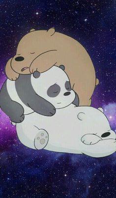 30 Gambar We Bare Bears Terbaik Beruang Panda Kartun Beruang Kutub