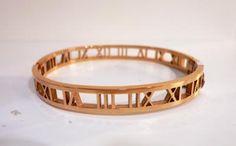 Βραχιόλια και κοσμήματα στο Macao! Βραχιόλι Ατσάλι Με Λατινικούς Αριθμούς X13 | Κοσμήματα Βραχιόλια