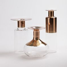 giorgio bonaguro / collezione tapio vasi di vetro da serax